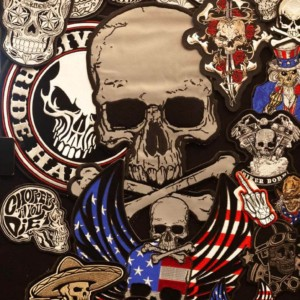 Skull patches and more skull patches