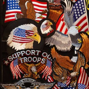 Good Ole America and patriotic patches