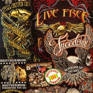 Live to Ride and freedom patches