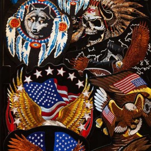 Native American patches