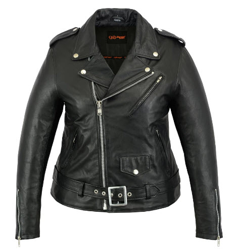 Renegade Classics Women Biker Leather Jackets
