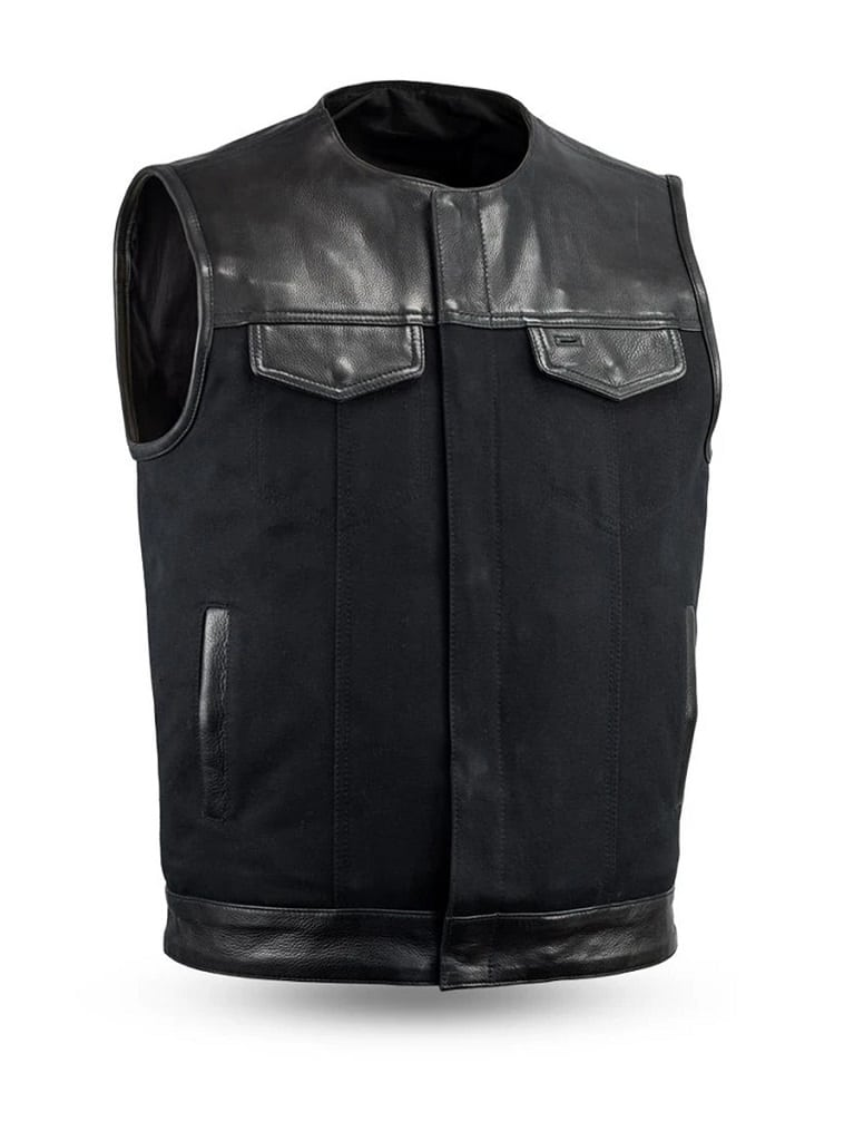 Black, 9X-Large NexGen Mens Nylon Jacket