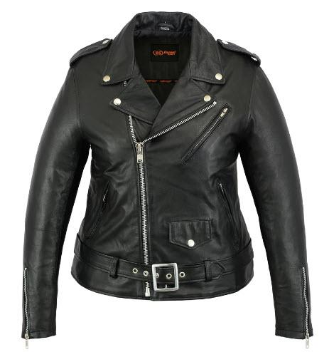 Renegade Classics Women Biker Leather Jackets